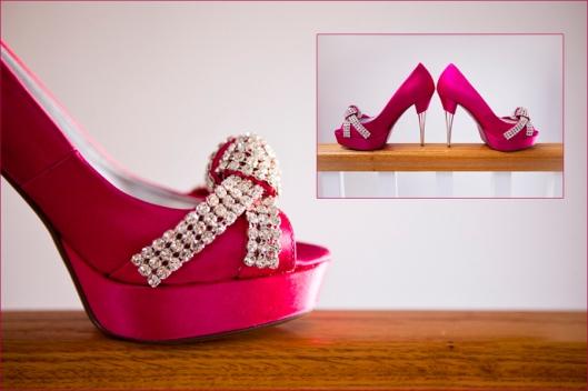 pink barbie shoe, wedding shoe
