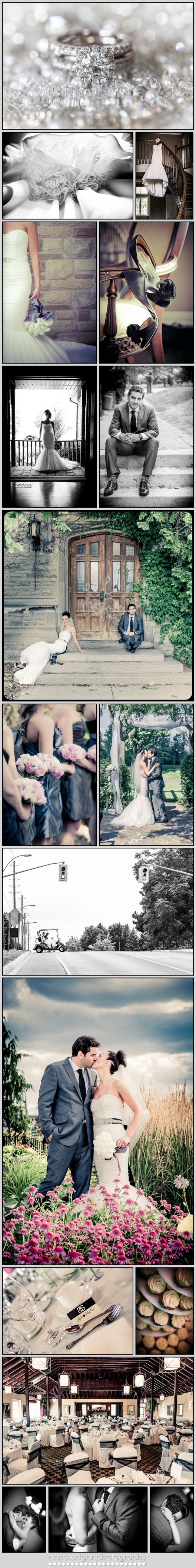 Guelph Ontario wedding photography, country club wedding
