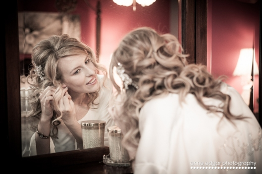 getting ready for the wedding photography