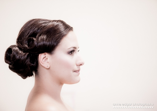 profedssional wedding make up and hair up dos