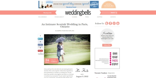 wedding bells feature