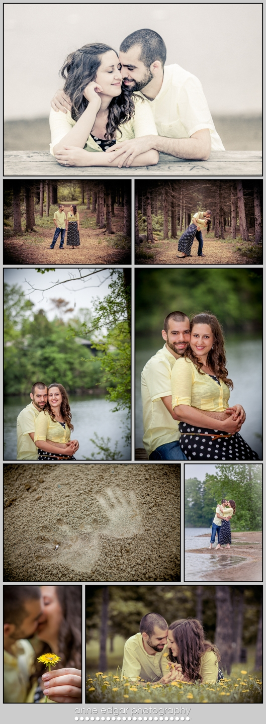 professional wedding and engagement photos by Anne Edgar Photography