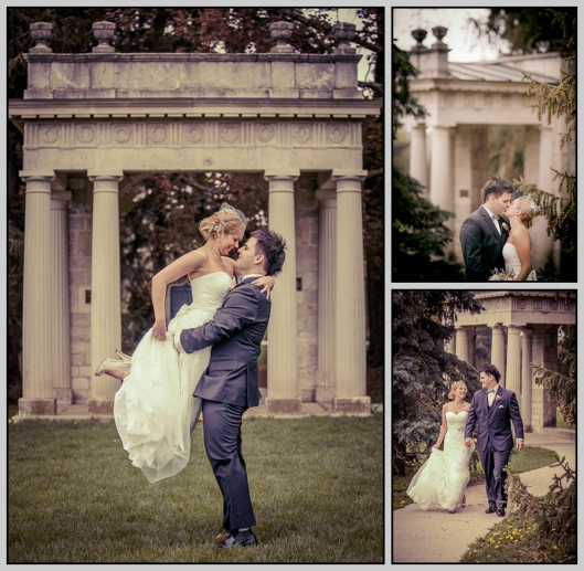 wedding photography at University of Guelph