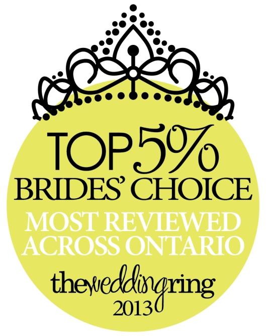 Anne Edgar Photography wins Brides Choice 2013