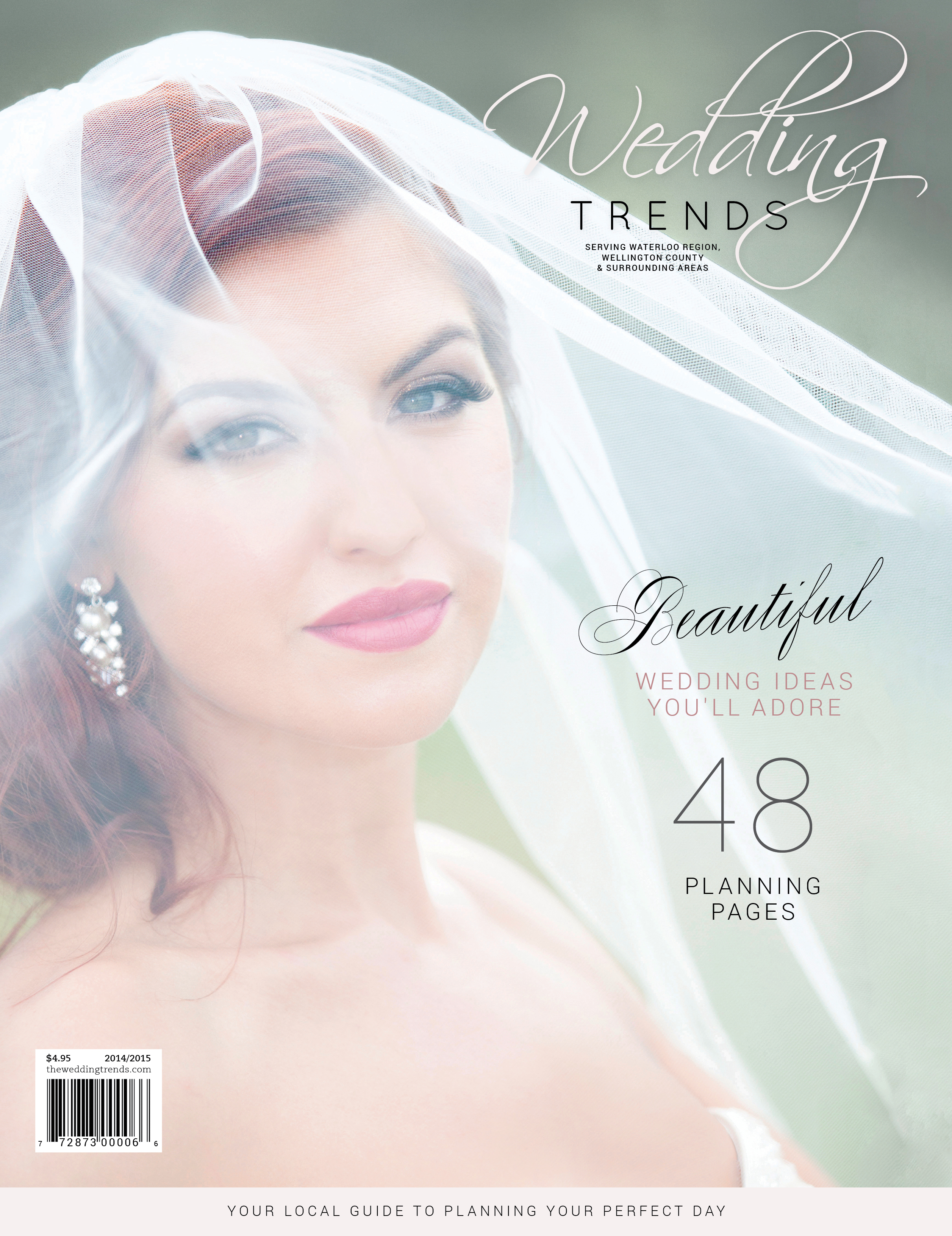 how to get published in a wedding magazine