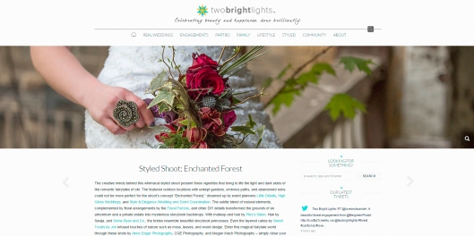 styled session in Canada wedding inspiration